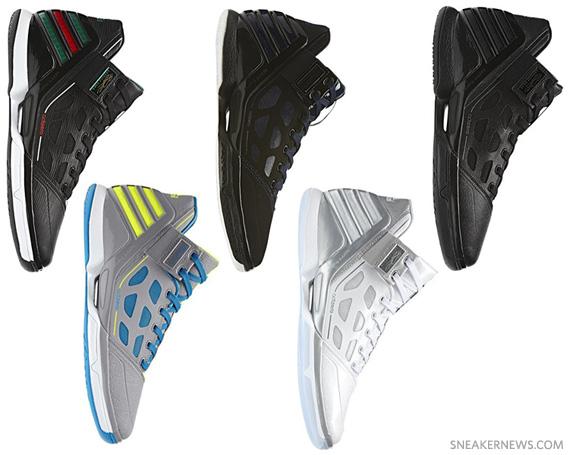 more photos 3bda6 65c12 adidas adiZero Rose 2.0 – Upcoming Colorways
