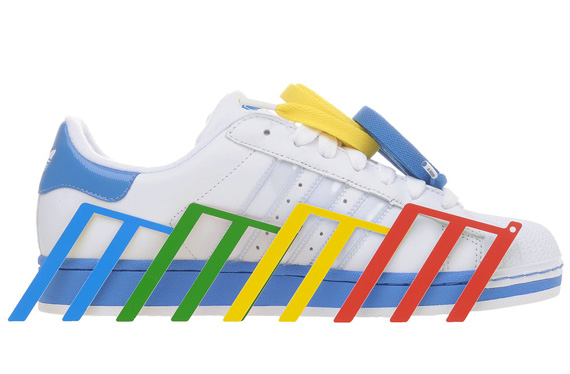NEW $90 Adidas Men Superstar Adicolor blue S80327