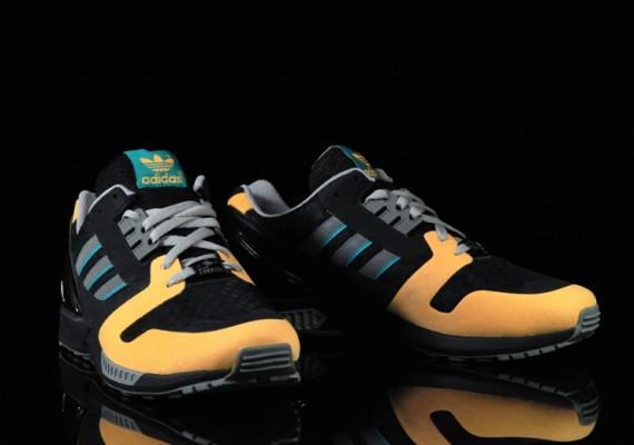 adidas Originals ZX 8000 - Black - Yellow - Teal  6ec7922fe