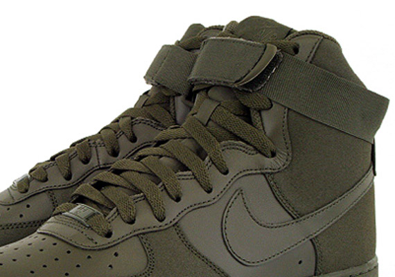 sale retailer ef3b2 081c7 Nike Air Force 1 High - Bog Green - SneakerNews.com