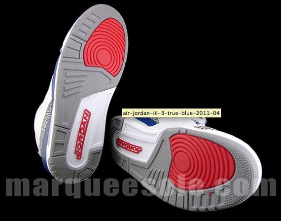Air Jordan III  True Blue  - 2011 Retro  8ea35c006