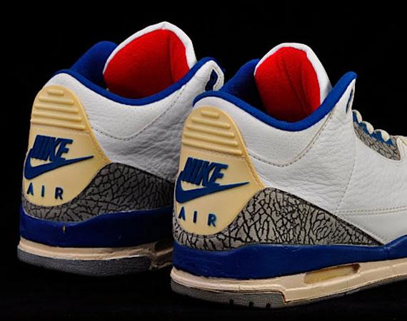 5926417934532e Air Jordan III  True Blue  - OG Pair on eBay - SneakerNews.com
