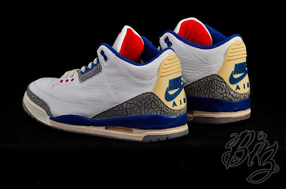 Air Jordan III 'True Blue' - OG Pair on