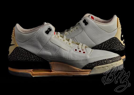 sale retailer bab3d be97b Air Jordan III - White - Cement Grey | OG Pair on eBay ...