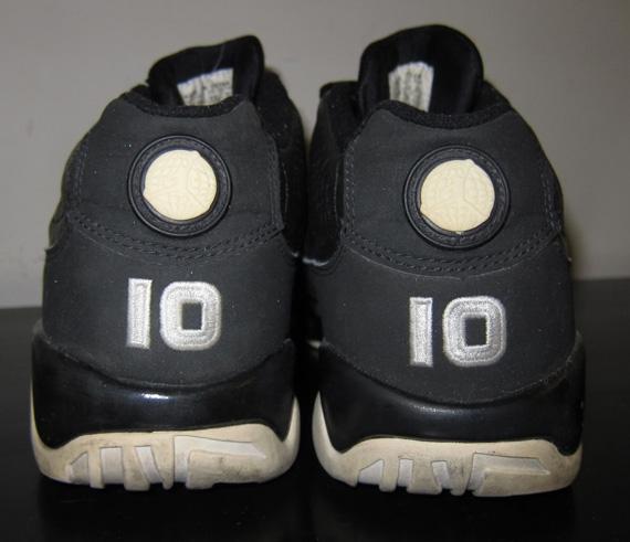 50%OFF Air Jordan IX Low Mike Bibby Sacramento Kings Away PE ... 7b82f199294a