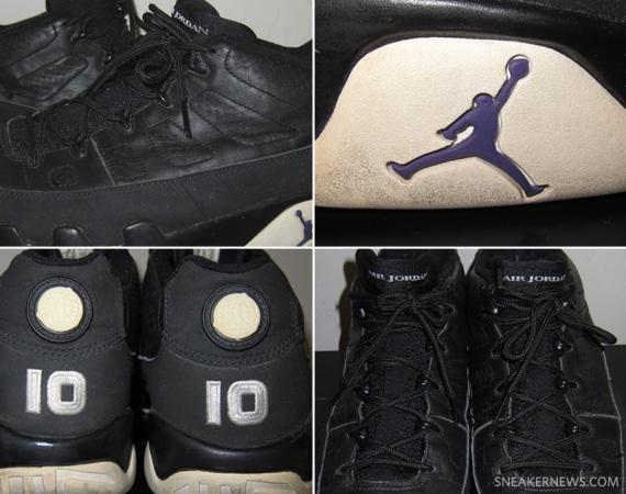 Air Jordan IX Low - Mike Bibby Sacramento Kings Away PE ... 2f1850b574de