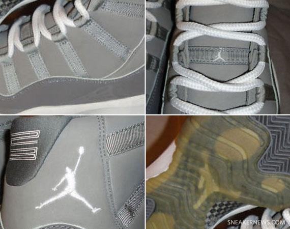 81d11ca2ed9f97 Air Jordan XI Retro  Cool Grey  - 2000 Sample on eBay - SneakerNews.com