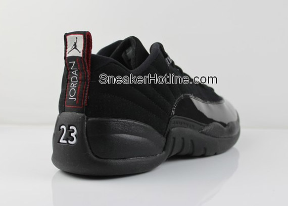 28fc08c5153e Air Jordan 12 Retro Low - Black Patent - New Photos - SneakerNews.com