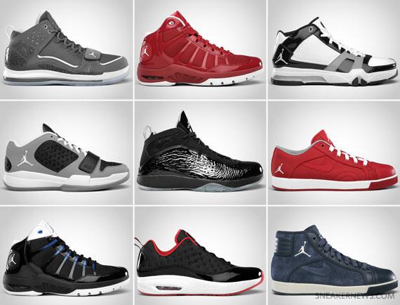 2011 Sorties Air Jordan