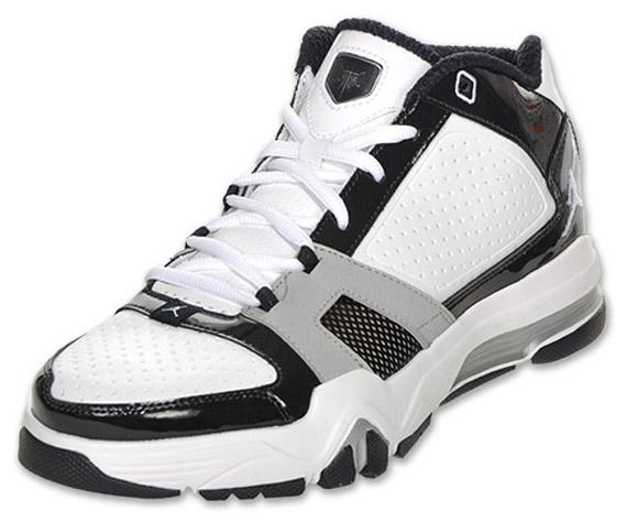 Jordan Jeter Cut - White - Pitch Black - Metallic Silver ... 837d6824e7
