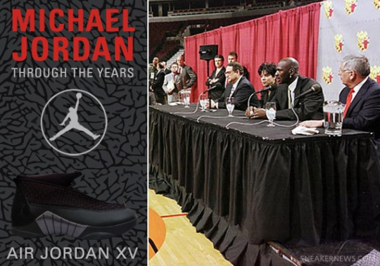 Michael Jordan Through The Years: Air Jordan XV