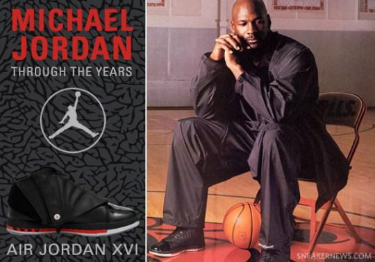 Michael Jordan Through The Years: Air Jordan XVI