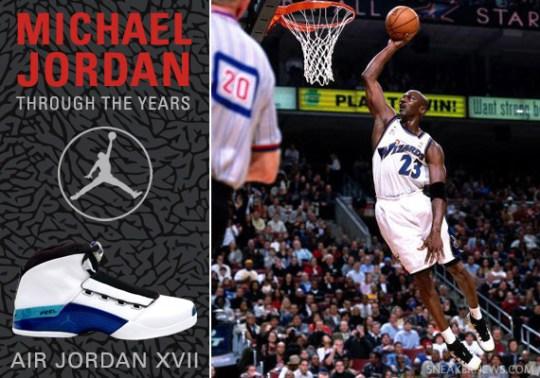 Michael Jordan Through The Years: Air Jordan XVII