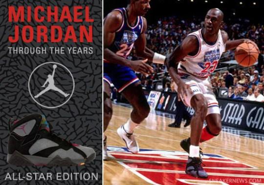 Michael Jordan Through The Years: All-Star Game Spotlight