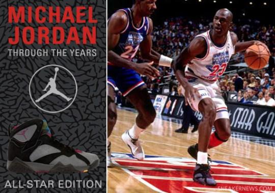 Michael Jordan Through The Years  All-Star Game Spotlight 003476d40