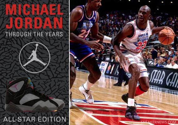 wholesale dealer fd4ba 48f3d Michael Jordan Through The Years  All-Star Game Spotlight