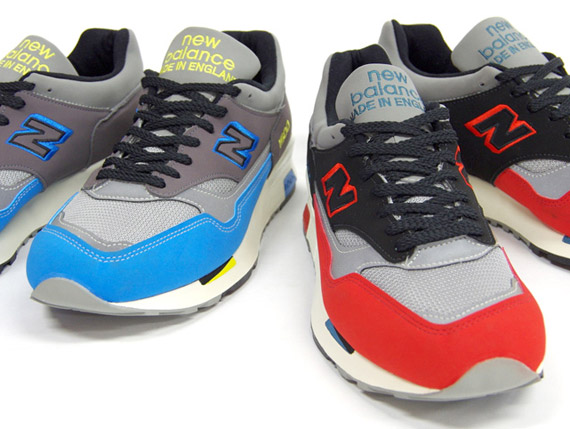 New Balance M1500UK 'Made in England' – Spring 2011 Colorways