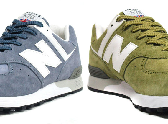 New Balance M576UK 'Made in England' – Blue + Green