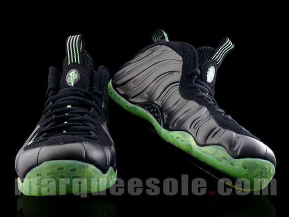 92740eee7e26 80%OFF Nike Air Foamposite One Black Electric Green