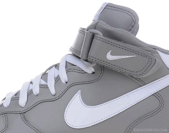 pas cher pour réduction f61bc e0cd6 Nike Air Force 1 Mid '07 - Grey - White | Available ...