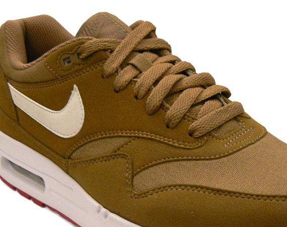 88bfcb114c8 Nike Air Max 1 - Brown Kelp - Red - White - SneakerNews.com