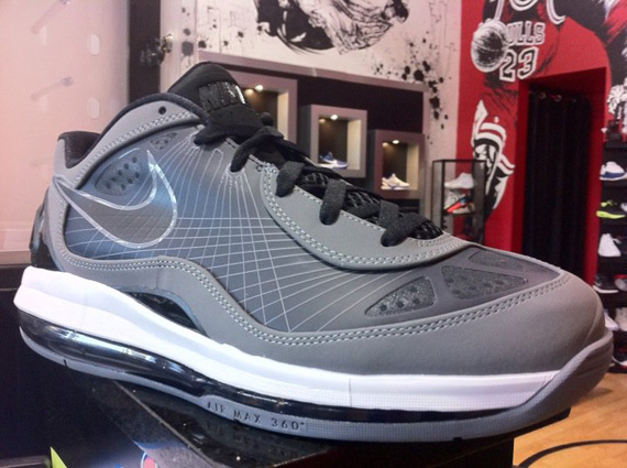 3411d85d69 hot sale Nike Air Max 360 BB Low Electric Green + Cool Grey Available