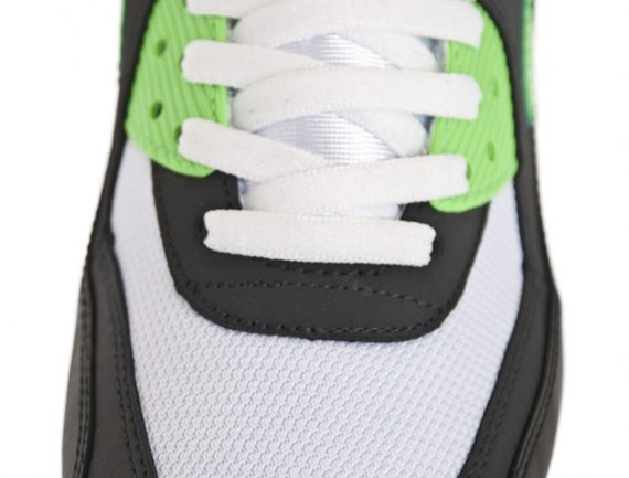 size 40 cb96a 90fe4 Nike Air Max 90 Black Neo Lime-Anthracite 309299-035 Color  Black Neo Lime- Anthracite. eBay Marketplace Logo .