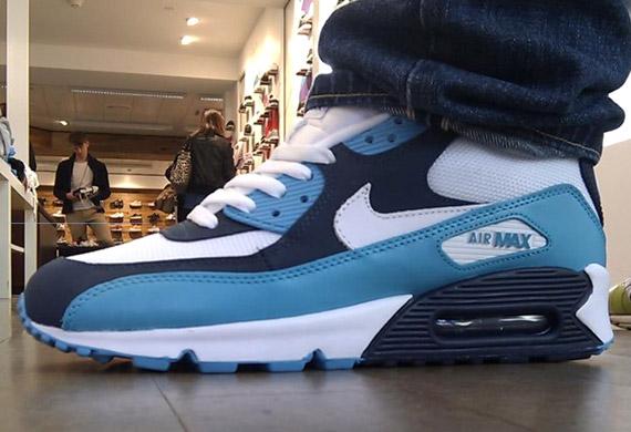 70%OFF Nike Air Max 90 SI White Chlorine Blue Obsidian - s132716079 ... 639ada8eae