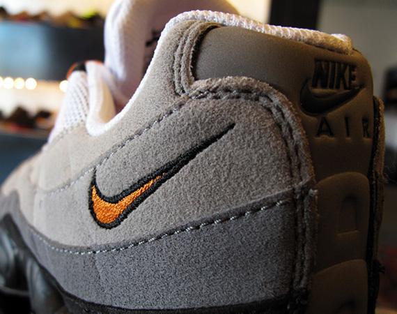 various design 100% quality shopping Nike Air Max 95 - Neutral Grey - Mandarin Orange | Available ...