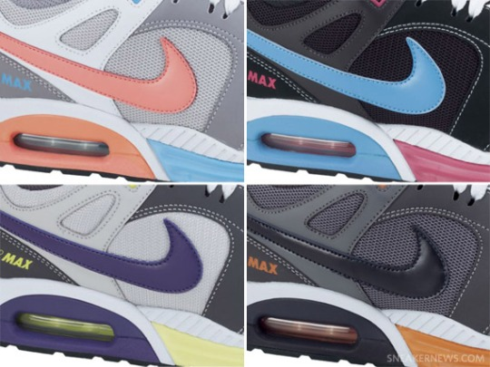 Nike Air Max Lunar – Four Colorways Available @ NikeStore