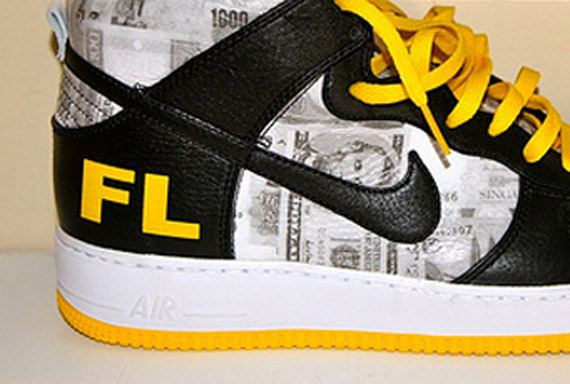 100% authentic bccdd f7073 Livestrong x Nike Dunk High FLOM Force 1 - SneakerNews.com