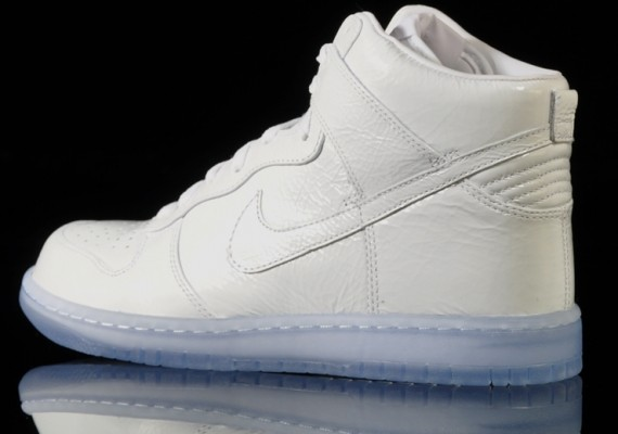 Nike Dunk High Premium 'White Pack' – Detailed Images