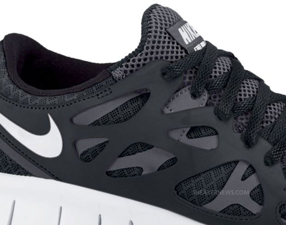 2011 03 15 Nike Free Run 2 Black White Anthracite Available On Sale