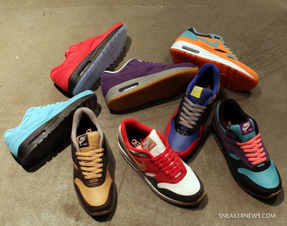 Nike Id Air Max 1 Spring 2011 Materials Sneakernews Com