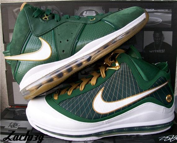 0e0429fe839f Nike LeBron 8 - SVSM Home   Away PE s