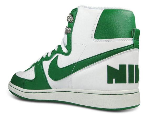 1f8eb31d6d Nike Terminator High Basic - White - Pine Green - SneakerNews.com