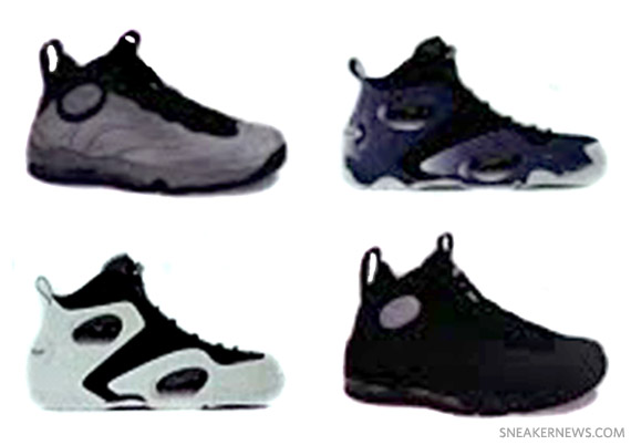 sale retailer 4f27b e752d Nike Total Air Foamposite Max + Zoom Rookie – Holiday 2011 Colorways