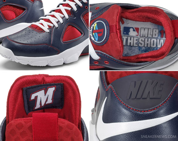 f63c1eadd78c Sony Playstation x Nike Zoom Huarache TR Low - Joe Mauer MLB The Show PE