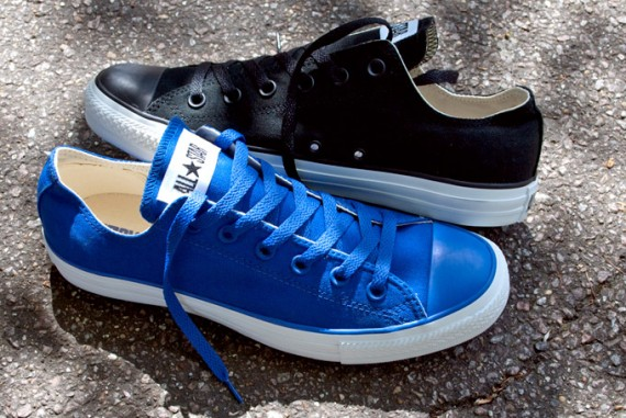 Converse Chuck Taylor All Star Low – Black + Royal