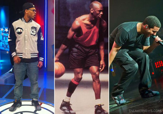 7 Celebs Wearing the Air Jordan VII Bordeaux Complex