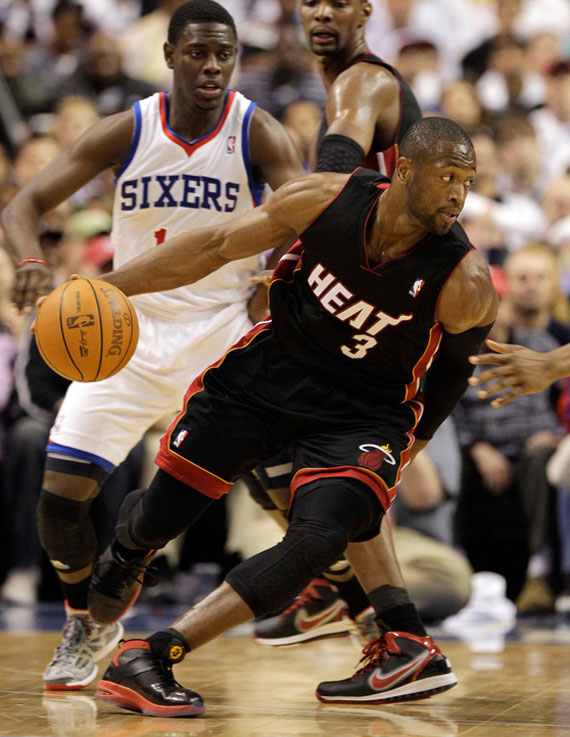 cc2895c424d869 Air Jordan Fly Wade - Miami Heat Away PE - SneakerNews.com