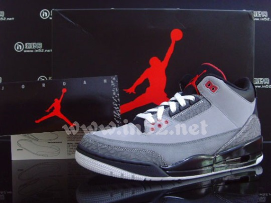 Air Jordan III Retro – Stealth – Varsity Red – Black – White | New Images