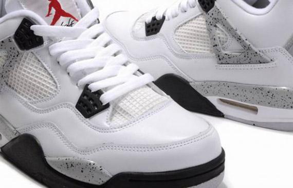 54c7be4291a322 Air Jordan IV - White - Cement - 2012 Retro - SneakerNews.com