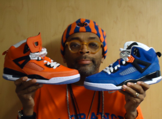 Air Jordan Spiz ike Spike Lee New York Knicks PE s