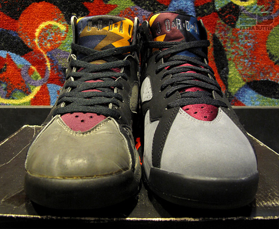 buy popular 8b477 90038 Air Jordan VII 'Bordeaux' - OG vs. Retro Comparison ...