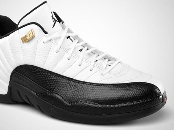Air Jordan XII Low  Taxi  - Release Reminder - SneakerNews.com 97dbe2863d97