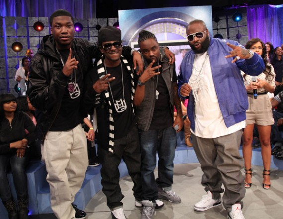 Celebrity Feet: Maybach Music Group Visits 106 & Park
