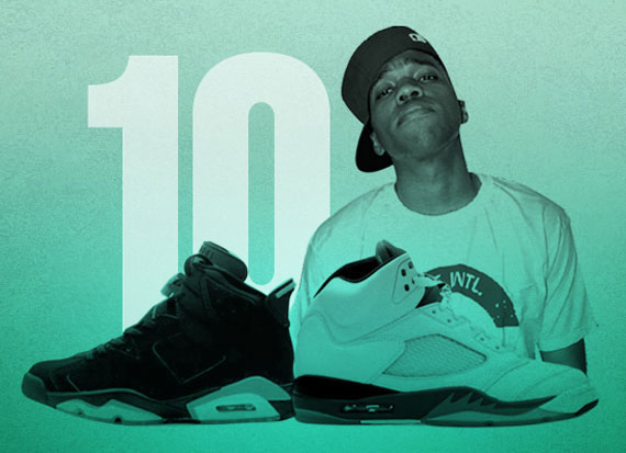 Curren$y's Top 10 Sneakers Of All Time