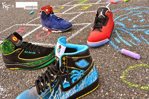 FreshFliedFish X SneakersOverEverything Air Jordan Doernbecher