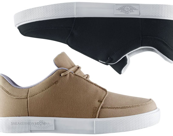 new styles fcd15 48ec6 Jordan V.5 Grown Canvas Low - May 2011 Releases @ NikeStore - SneakerNews. com
